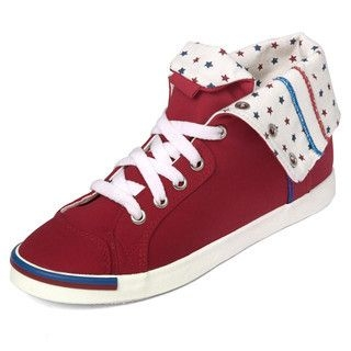 yeswalker - Stitch Detail Low-Top Canvas Sneakers