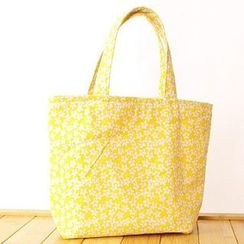 Ms Bean - Floral Print Shopper Bag