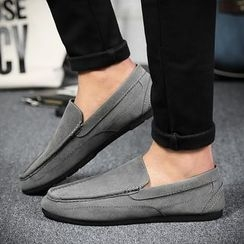 BINSHOU - Plain Loafers
