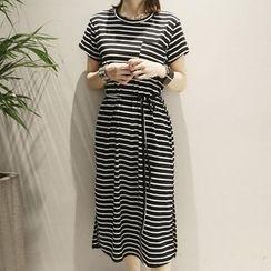Jolly Club - Striped Maxi Dress