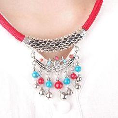 Seirios - Beaded Retro Necklace