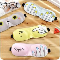 Desu - Printed Sleeping Eye Mask