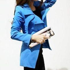 SEYLOS - Slim-Fit Trench Coat