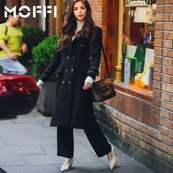 MOFFI - Double Breasted Long Coat