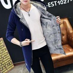 Chic Maison - Hooded Fleece-Lined Jacket