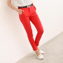 SO Central - Slim-Fit Pants with Belt
