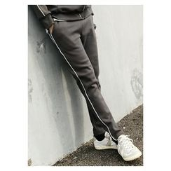 HOTBOOM - Brushed-Fleece Sweatpants