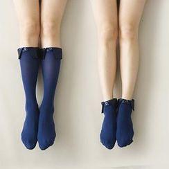 LA SHOP - 衬衫领袜子