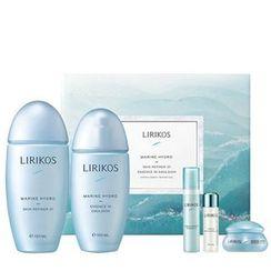 LIRIKOS - Marine Hydro Set: Skin Refiner I 150ml + Essence In Emulsion 100ml + Ampoule 5ml + Oxygenic Essence 10ml + Intense Cream 8ml