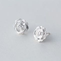 A'ROCH - 925 Sterling Silver Flower Earrings