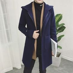 EVAMORE - Hooded Long Coat