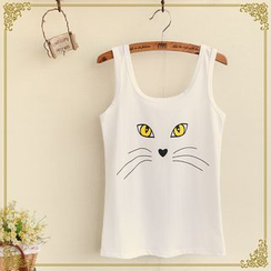 Fairyland - Animal Printed Tank Top