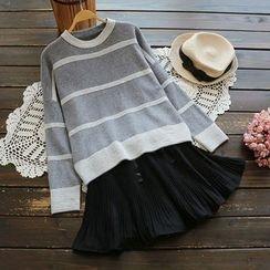 YOYO - 条纹毛衣
