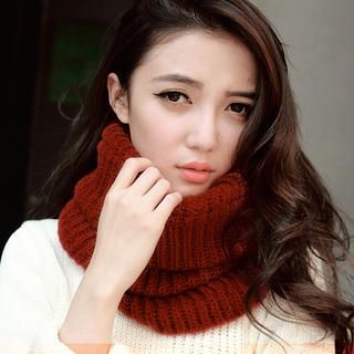 Cuteberry - Knit Circle Scarf
