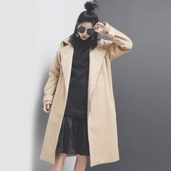 Sonne - Lapel Wool Coat