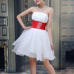 Bridal Workshop - 抹胸迷你礼服裙