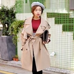lovemark - Trench-Coat with Belt