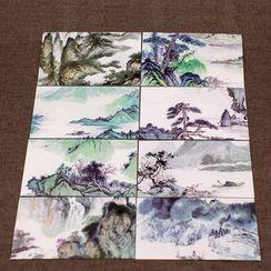 Porcelina - Printed Postcard