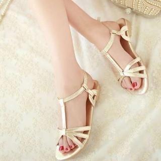 Pangmama - Glitter Flat Sandals