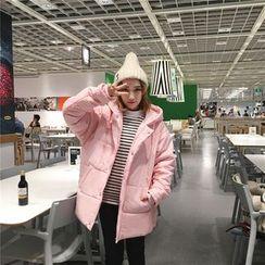 Eva Fashion - Hooded Padded Coat