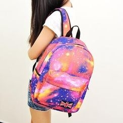 LineShow - Galaxy Print Lightweight Backpack