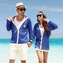 Honey Lemon - Couple Matching Beach Set