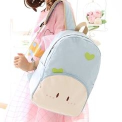 Canvas Love - Cartoon Canvas Backpack