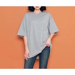 HOTPING - Loose-fit Cotton T-Shirt