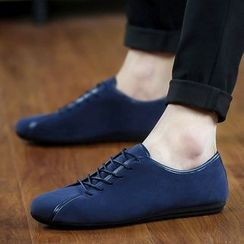 Ireoul - 纯色系带休閒鞋