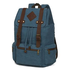 Mr.ace Homme - Buckled Canvas Backpack