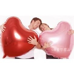With Love - Heart Microfoil Balloon Party Decoration