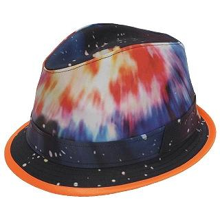 GRACE - Galaxy Print Fedora