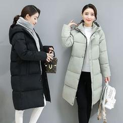 Cobogarden - Hooded Padded Coat