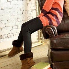 Tokyo Fashion - Fleece-Lined Leggings