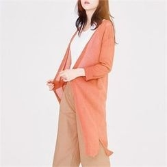 MAGJAY - Open-Front Long Cardigan