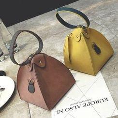 Velocia - 雙色三魚手提包