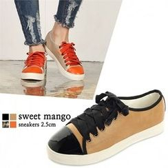 SWEET MANGO - Toe-Cap Sneakers