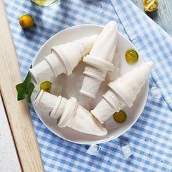 Home Simply - Set of 4: Ice-Cream Shaped Popsicle Mold