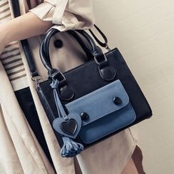 Youshine - Colour Block Satchel