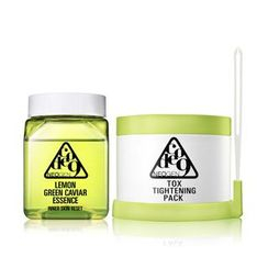 NEOGEN - Code9 Lemon Green Caviar Essence & Tox Tightening Pack