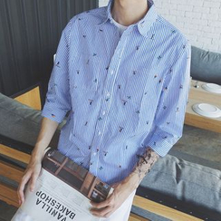 Mr. Cai - Striped Shirt