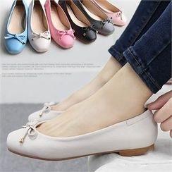 Reneve - Ribbon Ballerina Flats