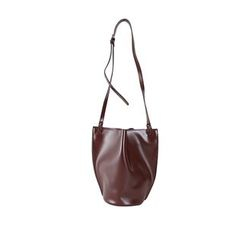 DABAGIRL - Snap-Button Bucket Cross Bag