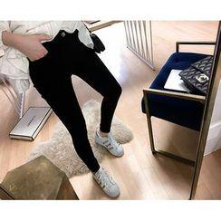Marlangrouge - Plain Skinny Pants