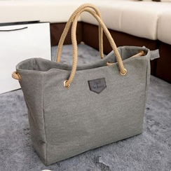 Diamante - Canvas Shopper Bag