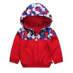 Ansel's - Kids Printed Hooded Jacket