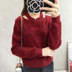 Mayflower - Cutout Sweater