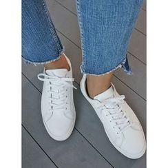 STYLEBYYAM - Faux-Leather Sneakers