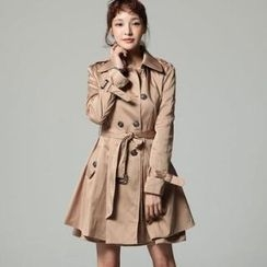 SARAH - Layered Trench Coat