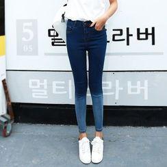 Denimot - Gradient Skinny Jeans